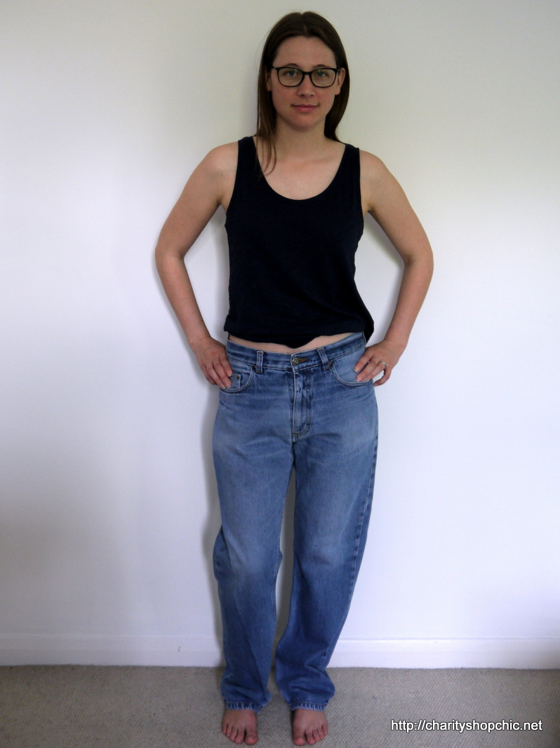 f716e12dda5c These particular jeans are bog standard Marks and Spencer dad-jeans of  absolutely no fashion merit of any kind (no vintage Levis were harmed in  the making ...